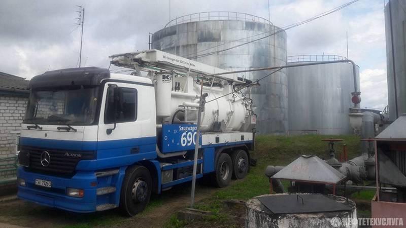 Вывоз нефтесодержащих отходов