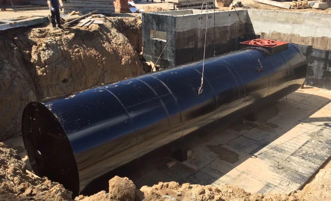 демонтаж подземных резервуаров